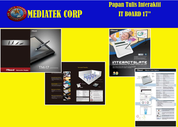 Papan Tulis Interaktif | IT Board 17 Inci
