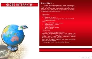 Globe Interaktif